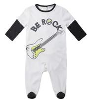baby keepsakes - cool music rock keepsake gift bodysuits baby long sleeve onesie suit for sale