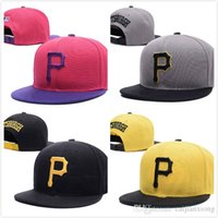 active p - CHEAP NEW PIRATES BLACK BLUE GRAY RED P LETTER STRAIGHT VISOR BASEBALL CAP ADJUSTABLE SNAPBACK HAT