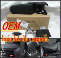 automotive cup holders - The new Volkswagen Polo armrest with cup holder boxes bag storage boxes storage console original automotive products