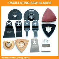bosch power tools - Professional set Oscillating Tools Saw Blades Accessories fit for Multimaster power tool as Fein Dremel bosch dewalt makita etc