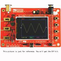Wholesale DSO138 quot TFT Digital Oscilloscope Kit DIY Parts Pocket size Handheld Electronic Learning Set Msps