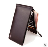 Wholesale Men Wallet Wallet Leather Mens Wallet PU Purses High Quality Man Business Money Clip Bifold Wallets Card Holder Men Purse