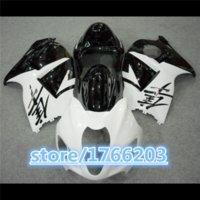 Wholesale HOT SALES White Black R49 Fairing for Hayabusa GSXR1300 GSX R1300 GSXR1300 GSX R1300