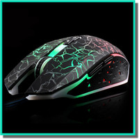 Wholesale New design wired mouse x8 optical mouse horsemen of the mouse for LOL DOTA CF game computer accessories