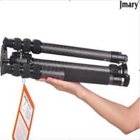 Wholesale Jmary TH324 Y Carbon Fibre Tripod Camera Tripods With Ballhead Universal QR Plate Kit For Nikon Canon Panasonic Sony Olympus Pentax DSLR