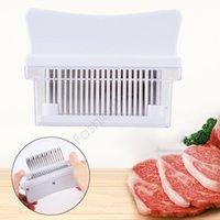 stainless steel dishwasher - New Drop Shipping Stainless Steel Blades Meat Tenderizer Dishwasher Safe Kitchen Tool Gift
