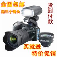 Wholesale 16MP HD D3000 Digital Camcorder Camera Wide Angle Lens x Optical Telescope Lens