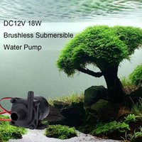 Wholesale High Efficiency DC12V W Mini Brushless Submersible Water Pump for Fish Tank Aquarium Fountain Flowerpot order lt no track