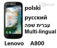 bar menu card - 2013 Original New Lenovo A800 MTK6577 Dual Core CPU G M G Dual SIM quot IPS Android G Russian Menu languages