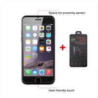 Wholesale 0 mm tempered for iphone Plus plus for LG K10 K7 tempered Glass Protectors for galaxy note