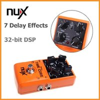 Wholesale NUX Time Core Guitar Effect Pedal Delay Models True Bypass Design Guitar Pedal with Loop Machine Delay Effects