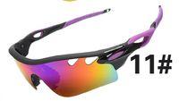 aluminum and copper - MOQ Cycling Sports Sunglasses Outdoor Sun glasses Brand Black women and man sunglasses Dazzle colour glasses