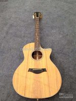 acustic guitar - NEW BRAND ACUSTIC GUITAR FIOWER INLAY WITH CASE