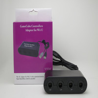 Wholesale New Port GameCube Controller Adapter for Wii U PC USB