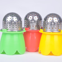 Wholesale New Arrival Food grade Stainless Steel Tea Leaf Strainer Herbal Spice Infuser Tea Filter X60 JJ1002W M2