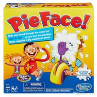 Wholesale Popular Pie Face Game Korea Running Man Pie Face Hasbro Cream On Her Face Hit The Send Machine Paternity Toy Rocket Catapult Game Consoles
