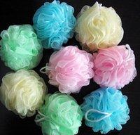 Wholesale 50pcs Bath Shower Body Exfoliate Puff Sponge Mesh Net Ball