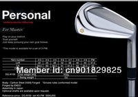 Wholesale 2014 New Limited Personal Forged Golf Club Heads golf rions Heads P No shaft DHL EMS