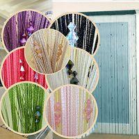 beaded room divider - Sparkle Beaded String Door Window Curtain Divider Room Fly Screen Blind Tassel