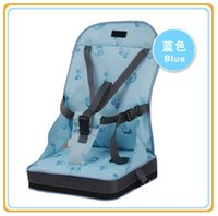 Wholesale Pink Blue Beige Baby Chair Seat for Feeding Fiber Cloth Surface Waterproof Fabric Highchair Baby Safty Chair Seat High Quality