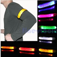 Wholesale LED Flashing Glow Reflective Armband Visible Hiking Jogging Bicycle