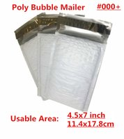 mail bags - PB White X7inch X178MM Usable space Poly bubble Mailer envelopes padded Mailing Bag Self Sealing