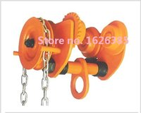 Wholesale TX3M geared trolley Hand monorail trolley work on I Beam