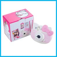 Wholesale 2016 new arrival Instax Mini Hello Kitty Instant Camera INS MINI KIT Polaroid refurblish Japan import