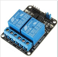 Wholesale 2 Channel New Channel Relay Module Relay Expansion Board V Low Level Triggered Way Relay Module For Arduino