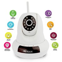 Wholesale New Design YCCTeam P Wireless WIFI Degree Rotating camera CCTV Network Phone Connect Cloud IP Camera IR M FI