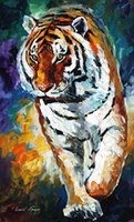 bengal for sale - oil Painting Leonid Afremov art for sale bengal tiger Canvas Hand painted High quality