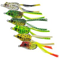 Wholesale US STOCK oz Bully Frog Topwater Frog Fishing Lure Crankbait Tackle Crank Bait Bass US Stock