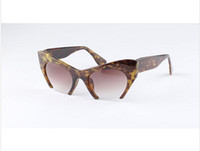 beyonce style fashion - Top Hot Fashion Retro Rasoir Razor Cut Off Cat Eye Sunglasses Glasses Rihanna Beyonce Celebrity Style