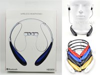 headset microphone - HBS Bluetooth headset HBS neckband and in ear flexible neck strap with volume control and microphone with colors