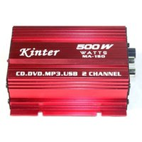 active subwoofer crossover - car dvd Mini Audio Stereo Amplifier Car Motorcycle Boat MP3 DVD Active crossover subwoofer network M7610
