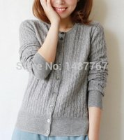 cashmere sweater - New arrival women fashion cashmere solid color winter keep warm sweater wollen sweater