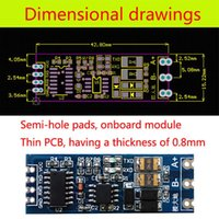 Wholesale 2015 Single Chip Microcomputer TTL Turn RS485 Module Automatic Flow Control Module