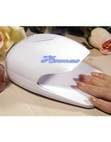 Wholesale Nail Tools Nail Dryers White Portable Dryer Mini Fan Blower for Hand Finger Toe Tips Nail Art Polish