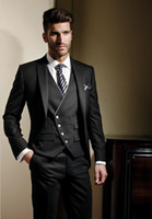 Wholesale Custom of the groom dress the handsome formal wedding best man suit men s suits the groom s suit