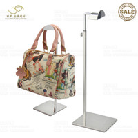 Wholesale Adjustable Metal Bags Handbag Display Rack Women Handbag Display Stand