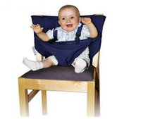 Wholesale 2014 New Style High Quality Baby Dining Chair Portable Safety Seat Infant Suspenders With Double Shoulder Straps