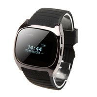 "Cheap Rwatch M18 Bluetooth Smart Watch 0.96"" OLED Display Screen for Android 2.3 BT3.0 Above Smartphone watch Phone PA2122"