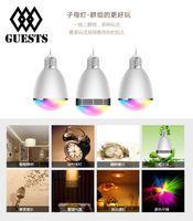 amp bulbs - Hot Sell High Quality Audio bulb W Bluetooth LED Bulb Degree Viewing Angle LED Bulb with Adjustable Brightness W AMP M Range BL G