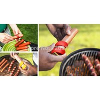sausage - 2pc Manual Fancy Sausage Cutter Spiral Hot Dog Cutter Slicer kitchen gadget T1093 P
