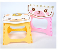 Wholesale Easily portable adult child folding stool with thick plastic stool baby waiting Chair