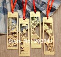 Wholesale New kawaii Creative Japan style DIY Multifunction matel Bookmark lovely Decoration Merlin bamboo and chrysanthemum dandys
