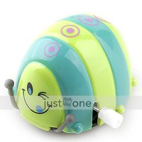 Wholesale Funny Colorful Baby Kid Beetle Thumbing Somersault Running Clockwork Spring Toy