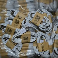 Wholesale 1m For Samsung Galaxy S6 S5 S4 Micro USB Cable Charger Note I Cable Micro USB Sync Data Cable Adapter Wire MOQ
