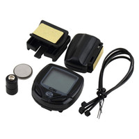 best bike speedometer - Best Wireless LCD Cycle Computer Bicycle Meter Speedometer Odometer For Bike