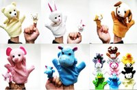 Wholesale New plush toys cartoon animal finger accidentally plush doll doll puzzle toys and make to order